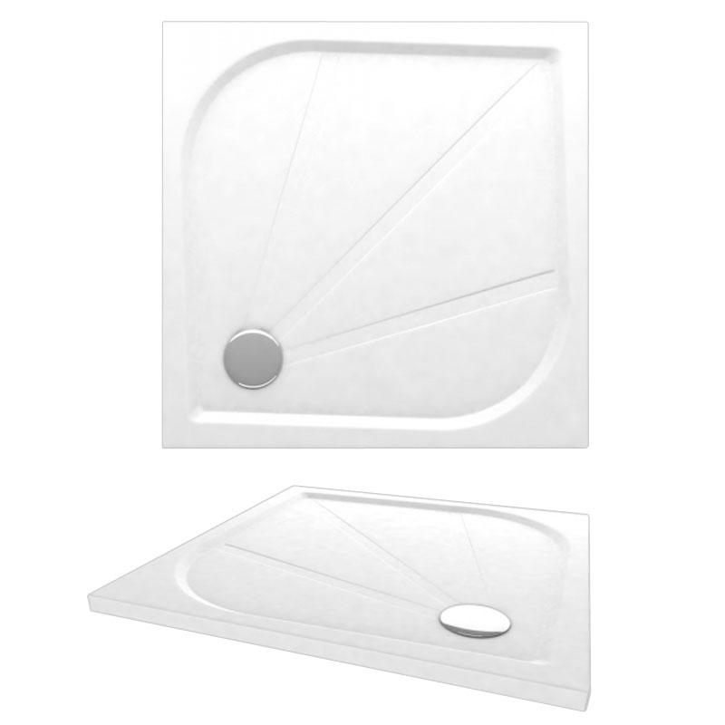 Мраморный поддон Alpen Virtus 800x800 APS0078 цвет белый цена 2017