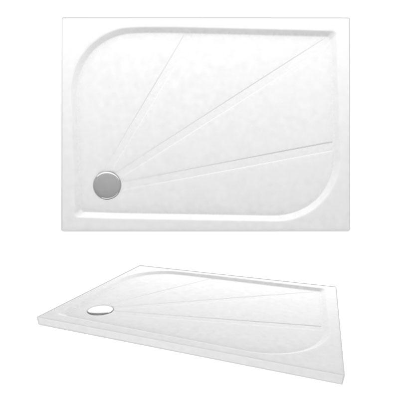 Virtus-C 1600x700 APC0070 цвет белыйДушевые поддоны<br>Мраморный поддон Alpen Virtus-C 1600x700.<br>Артикул: APC0070<br>