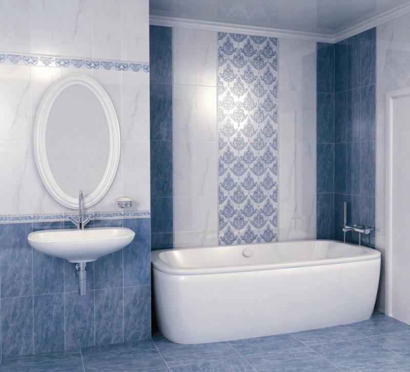 Керамическая плитка Kerama Marazzi Лакшми 7122 Синий 20х50 настенная