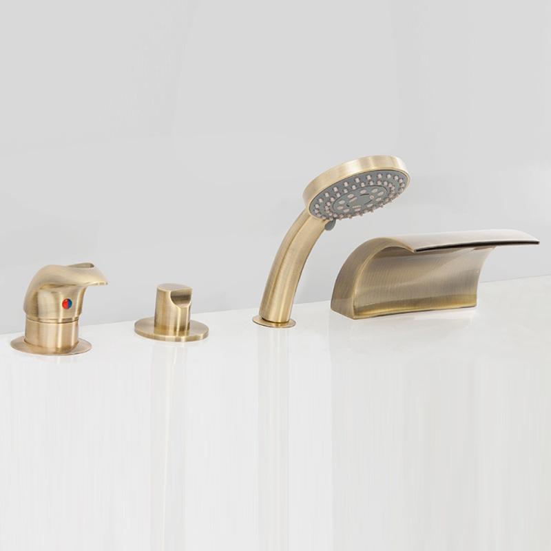 Granada AS1304B цвет бронзаСмесители<br>Смеситель на борт ванны Alpen Granada на 4 инструмента.<br>Артикул: AS1304B<br>