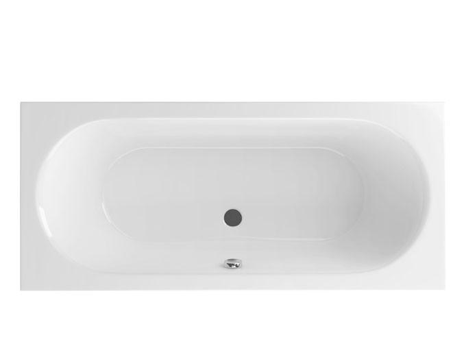 Акриловая ванна Excellent Oceana 180x80 Белая акриловая ванна duravit starck tubs showers 700009000000000 180x80