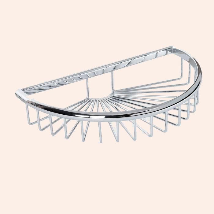 Harmony TWHO535 БронзаАксессуары для ванной<br>Подвесная полочка-решетка полукруглая TW Harmony TWHO535br. Цвет бронза.<br>