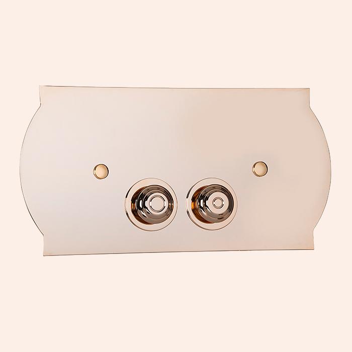 Клавиша смыва TW 300.4 Светлое золото