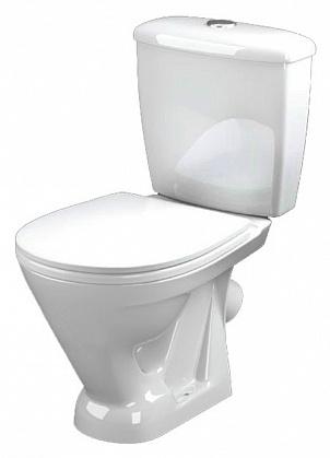 Радуга 216000 БелыйУнитазы<br>Унитаз-компакт Оскольская керамика Радуга 216000 в комплекте с сиденьем.<br>