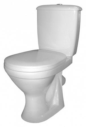 Суперкомпакт 217900 БелыйУнитазы<br>Унитаз-компакт Оскольская керамика Суперкомпакт 217900 с сиденьем,  выпуск в пол.<br>