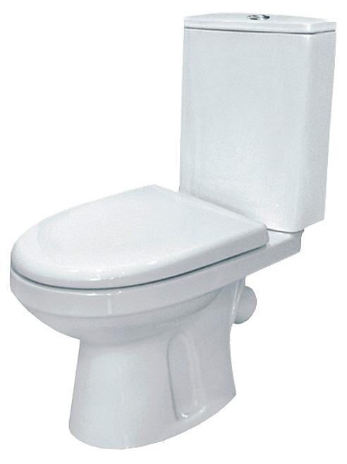 Фиона 223300 белый с сидением МикролифтУнитазы<br>Унитаз-компакт Оскольская керамика Фиона 223300 с сиденьем дюропласт микролифт. Выпуск косой.<br>