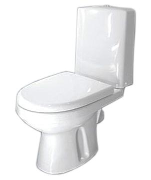 Леда 225200 белыйУнитазы<br>Унитаз-компакт Оскольская керамика Леда 225200 с сиденьем дюропласт.<br>