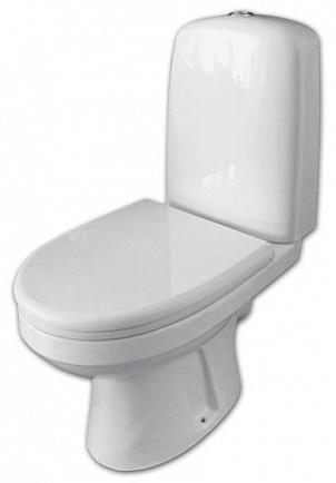 Эльдорадо 226300 белый с сидением  МикролифтУнитазы<br>Унитаз-компакт Оскольская керамика Эльдорадо 226300 с сидением дюропласт микролифт. Выпуск косой.<br>