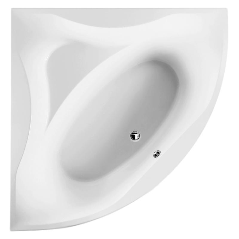 Bliss L 150x150x64 белаяВанны<br>Акриловая ванна AM PM Bliss L W53A-150C150W-A 150x150x64 угловая, в форме четверти круга, с отлитым сиденьем, объемом 190 литров. Комфортная и вместительная, в сочетании с оптимальным методом монтажа, экономящим полезную площадь. <br><br>Прочность в сочетании с малым весом<br>Эффективное звукопоглощение<br>Идеально гладкая поверхность<br>Акрил быстро нагревается и долго сохраняет тепло<br>С первого прикосновения чувствуется тепло из-за низкой теплопроводности<br>Диаметр сливного отверстия 50 мм<br><br>