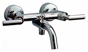 Venus 161000064  ХромСмесители<br>Смеситель Damixa Venus 161000064 для ванны с душем двухвентильный.<br>