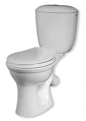 Унитаз Santeri Виктория P3016S0000BF белый унитаз компакт напольный sanita виктория комфорт