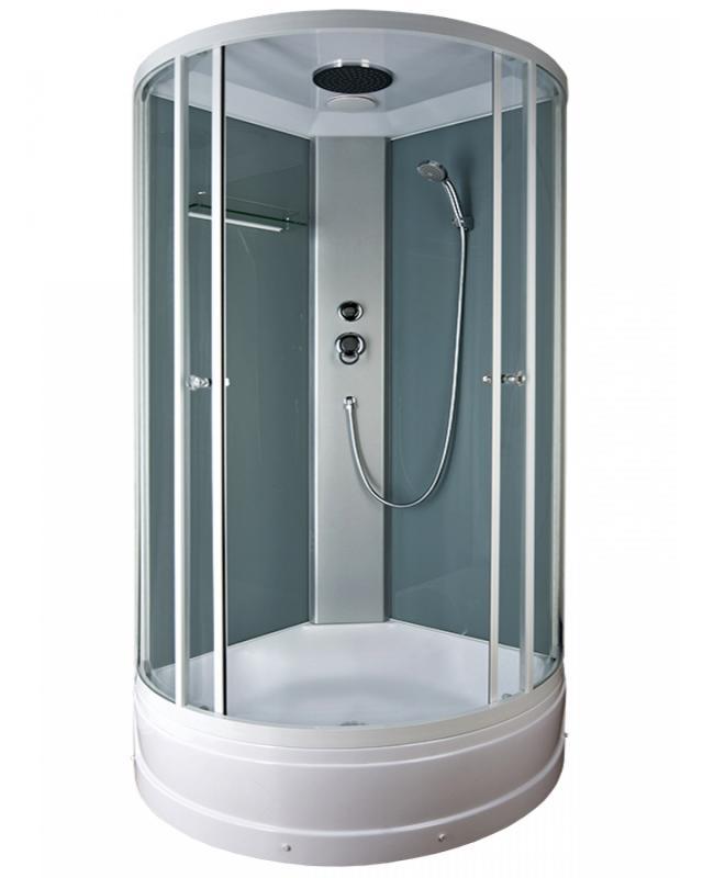 Sektors BL-111/80m  белый/непрозрачное стекло