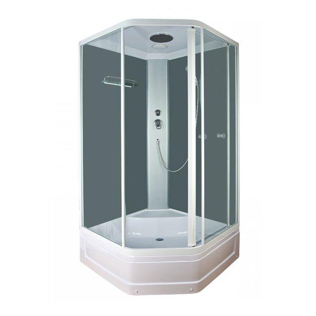 Pentas BL-112/90m белая/прозрачное стекло