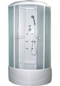 AW-5028 БелаяДушевые кабины<br>Душевая кабина Appollo AW-5028 гидромассажная. Прозрачное стекло, без панели управления, спинной массаж, подсветка, вентиляция, смеситель, верхний и ручной душ.<br>