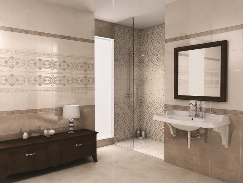 Керамическая плитка Kerama Marazzi Мармион MM6267B Беж мозаичный 25х40х8 декор цена