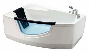 AT-9050L С гидромассажемВанны<br>Акриловая ванна  Appollo AT-9050L с гидромассажем.  Фронтальная панель со стеклом, набортный смеситель с изливом и душевой лейкой, подголовник.<br>