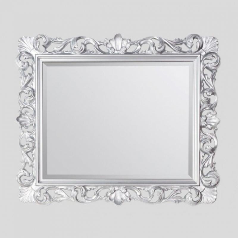 332 Античное сереброМебель для ванной<br>Зеркало TW 332argento antico. Рама дерево, отделка античное серебро.<br>