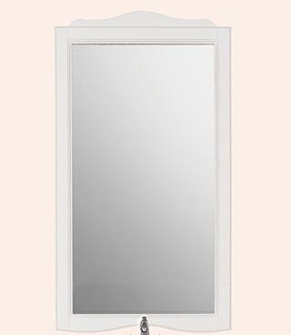 Sofia 363 Белое матовоеМебель для ванной<br>Зеркало TW 363 bi puro. Рама дерево, отделка белая матовая.<br>