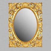 Barocco H870 foglia oro  поталь сусальное золотоМебель для ванной<br>Зеркало TW Barocco H870 foglia oro. Рама дерево, отделка поталь сусальное золото.<br>