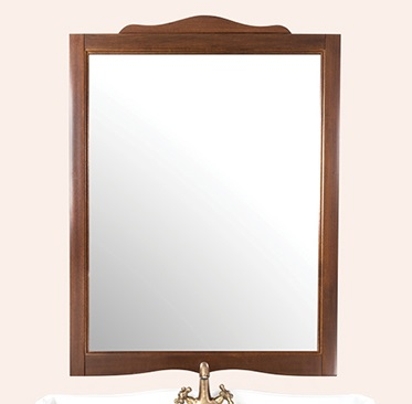 Veronica SP83 Белое матовоеМебель для ванной<br>Зеркало TW  Veronica SP83 bi puro. Рама  дерево, отделка белая матовая.<br>