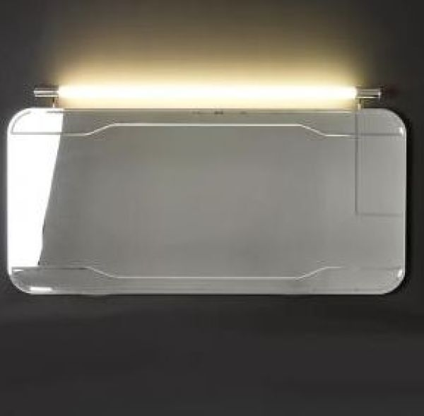 Waldorf 7405 150х70Мебель для ванной<br>Зеркало без рамы Kerasan Waldorf 7405 с выключателем.<br>