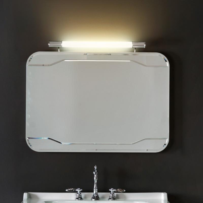 Waldorf 7406 100х70Мебель для ванной<br>Зеркало без рамы Kerasan Waldorf 7406 с выключателем.<br>