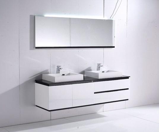 BC6023-1800 БелаяМебель для ванной<br>В комплект мебели Orans BC6023-1800 входит: тумба с раковиной,зеркало с подстветкой. Цвет белый.<br>