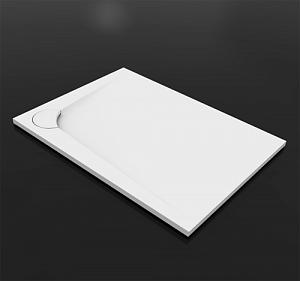 Boomerang 1100х800  ЛевыйДушевые поддоны<br>Душевой прямоугольный поддон Vayer Boomerang  1100х800 левый.  Изготовлен из литого мрамора, который является сочетанием наивысшего качества смол с доломитовой мукой. Преимуществом душевого поддона является специально спроектированная маскировочная крышка сливного отверстия.<br>