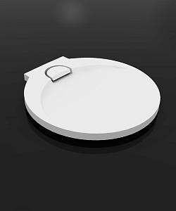 Boomerang D1000 БелыйДушевые поддоны<br>Душевой круглый поддон Vayer Boomerang  D1000.  Изготовлен из литого мрамора, который является сочетанием наивысшего качества смол с доломитовой мукой. Преимуществом душевого поддона является специально спроектированная маскировочная крышка сливного отверстия.<br>