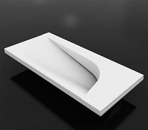 Раковина Vayer Boomerang 500х240 Белая