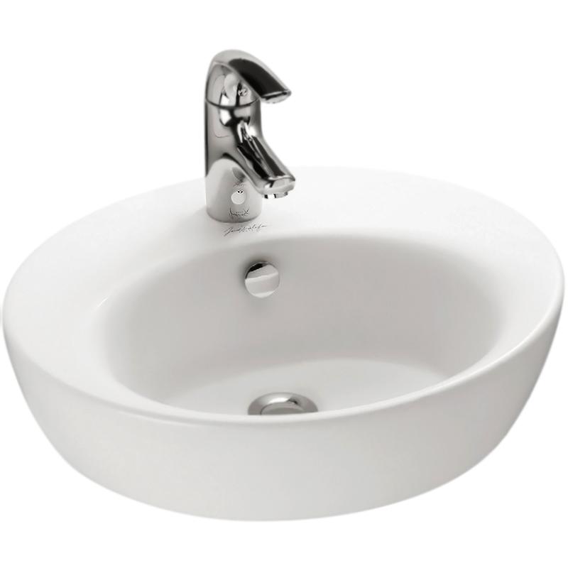 Ove E1708-00 БелаяРаковины<br>Раковина-чаша Jacob Delafon Ove E1708.<br>Изящная белоснежная раковина идеально дополнит интерьер ванной комнаты.<br>Особенности: <br>Отверстие для смесителя,<br>Перелив,<br>Отсутствие углов и эмалированное покрытие облегчают уход за раковиной.<br>