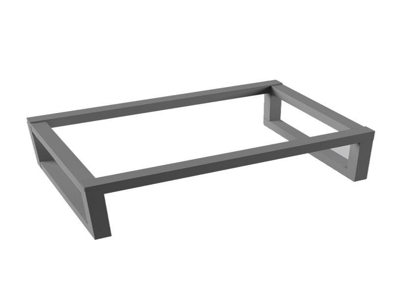 Boomerang 600х400 глянцевый хромМебель для ванной<br>Консоль под раковину глянцевая Vayer Boomerang 600х400 подвесная.<br>