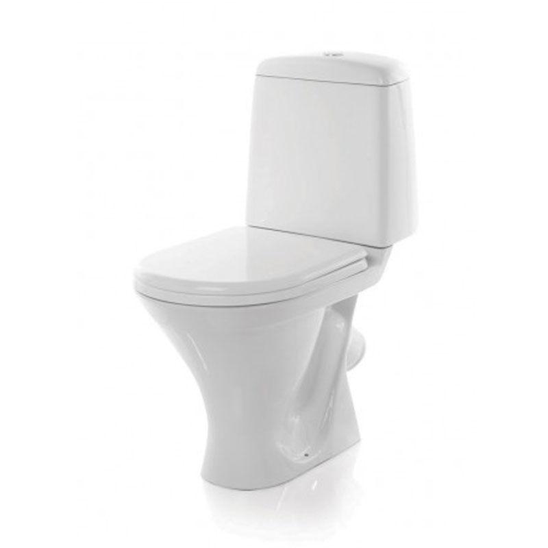 Унитаз Sanita Аттика ATCSACC01050713 Белый раковина 48 см sanita аттика 48 без пьедестала хром