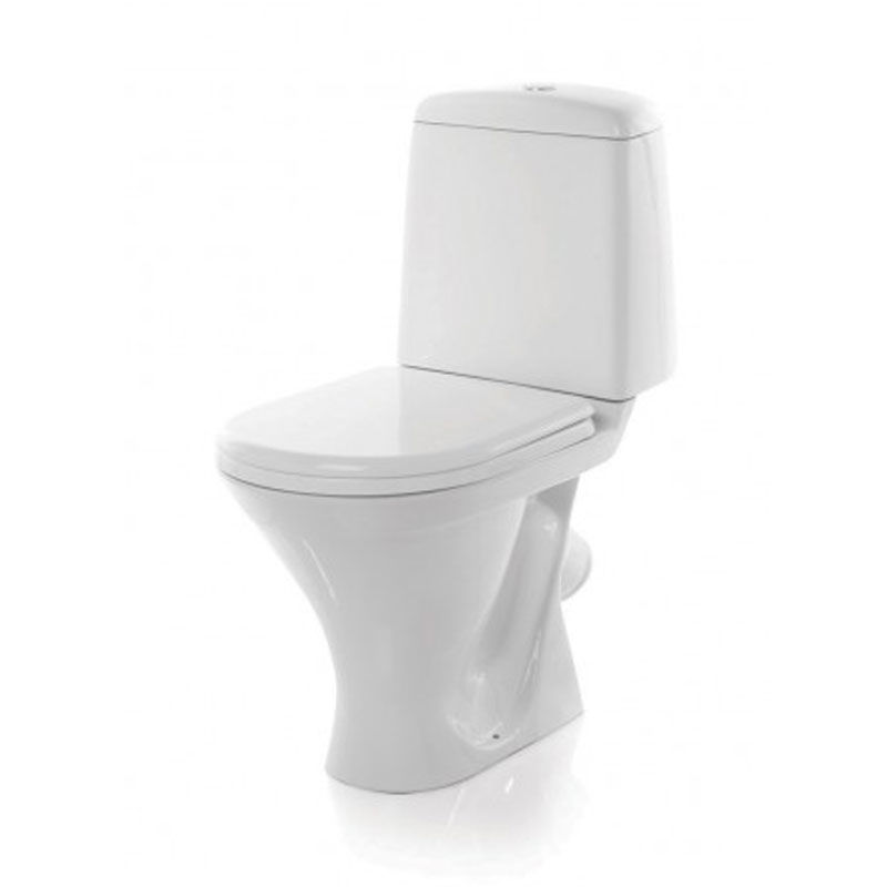 Унитаз Sanita Аттика эконом ATCSACC01090113 Белый раковина 48 см sanita аттика 48 без пьедестала хром