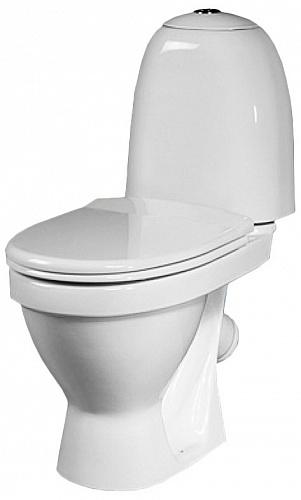 Унитаз Sanita Виктория эконом VICSACC01090111 Белый унитаз компакт напольный sanita виктория комфорт