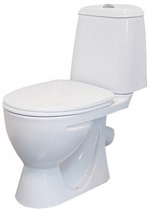 Унитаз Sanita Идеал комфорт IDLSACC01030713 Белый унитаз компакт напольный sanita виктория комфорт