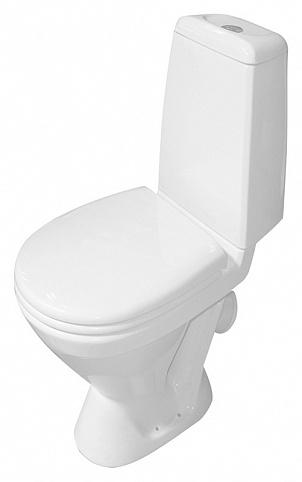 Унитаз Sanita Кама эконом KMASACC01090111 Белый унитаз компакт напольный sanita кама комфорт