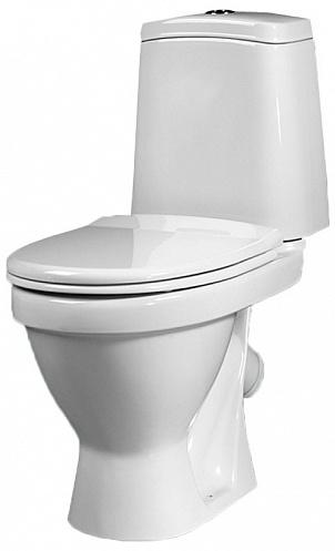 Унитаз Sanita Лада LDASACC01010711 Белый унитаз компакт напольный sanita виктория комфорт