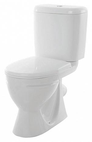 Унитаз-компакт Sanita Стандарт комфорт SDTSACC01030712 с бачком и сиденьем Микролифт унитаз компакт напольный sanita виктория комфорт