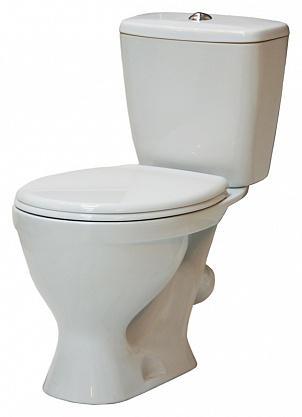 Унитаз-компакт Sanita Эталон комфорт ETLSACC01030713 с бачком и сиденьем Микролифт унитаз компакт напольный sanita виктория комфорт