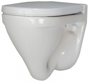Унитаз Sanita Luxe Attica Luxe SL DM ATCSLWH0104 Белый с сиденьем Микролифт унитаз santiline sl 5020mb приставной с сиденьем микролифт