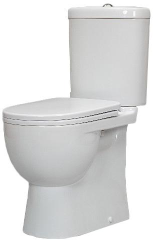 Унитаз Sanita Luxe Art Luxe SL DM ARTSLCC01040622 Белый с бачком и сиденьем Микролифт унитаз компакт santiline sl 5012 с сиденьем микролифт