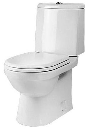 Унитаз Sanita Luxe Next Luxe SL DM NXTSLCC01040622 Белый с бачком и сиденьем Микролифт унитаз компакт santiline sl 5012 с сиденьем микролифт