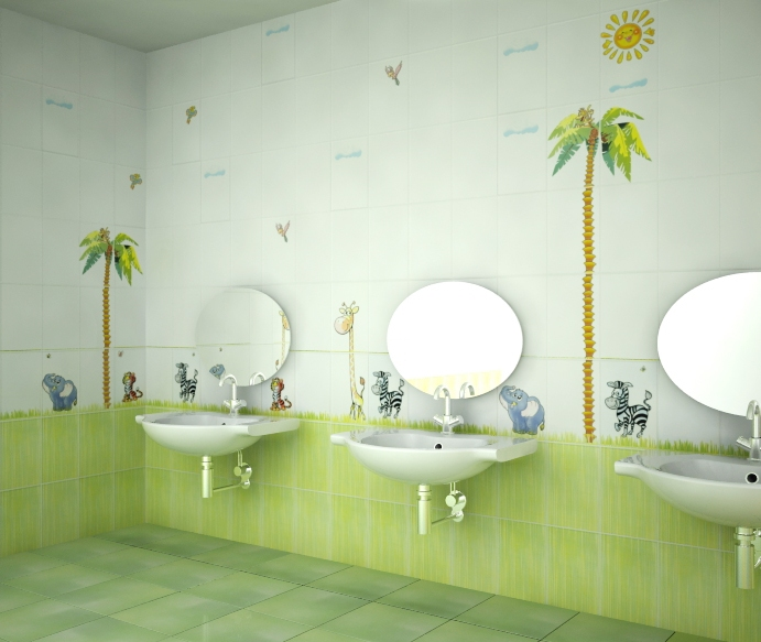Плитка для ванной комнаты ниагара