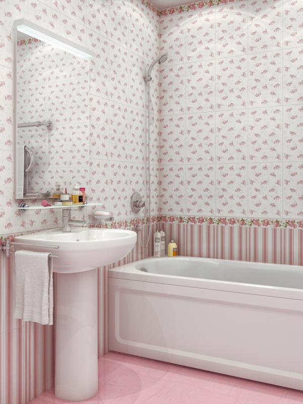 Керамическая плитка М-Квадрат Каприс розовый 72004133х33 керамогранит
