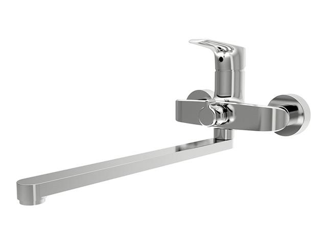 Origin Evo 420210064 ХромСмесители<br>Смеситель для ванны и душа  Damixa Origin Evo 420210064. Установлен специальный картридж, адаптированный к условиям водопроводных сетей России.<br>