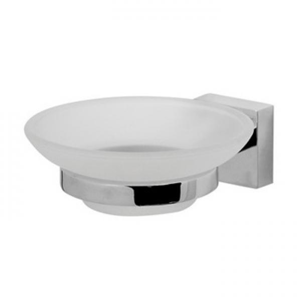Joy A8534200  ХромАксессуары для ванной<br>Стеклянная мыльница с настенным держателем AM PM Joy A8534200.<br>