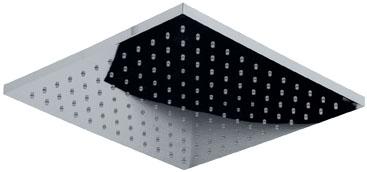 Square Standart 195 IHO09CRSC ХромВерхние души<br>Верхний душ Teorema Square Standart 195 IHO09CRSC металлический, квадратный, размер 195x195 мм.<br>