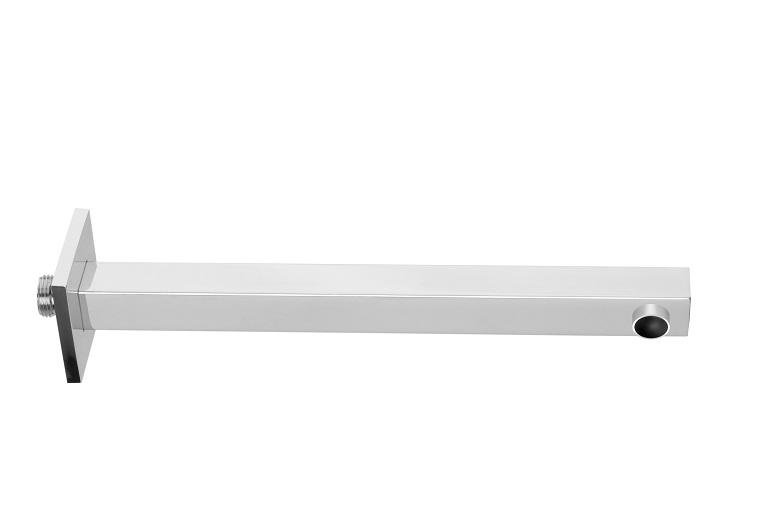 AC026CRSC ХромДушевые гарнитуры<br>Душевой кронштейн прямоугольный Teorema AC026CRSC длиной 380 мм.<br>