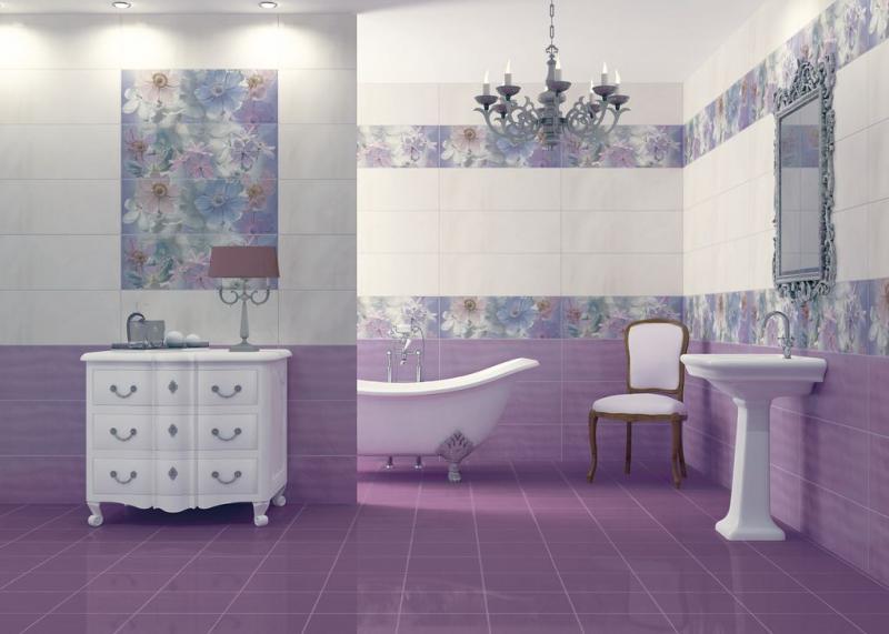 как правильно выбрать плитку для маленькой ванной комнаты фото